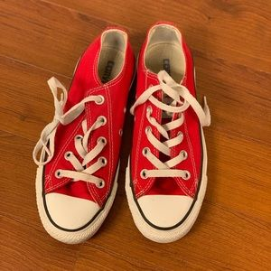 RED CONVERSE 👟